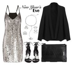 """NYE Dance Party"" by eva-jez ❤ liked on Polyvore featuring Stuart Weitzman, Alexander Wang, Mudd, party, NewYearsEve, newyear, nye and nyestyle"
