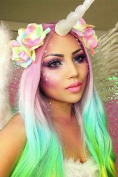 Resultado de imagen para halloween makeup cosplay