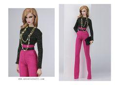 Antonio realli couture. Barbie Images, Hi Fashion, Fashion Royalty Dolls, Fashion Dolls, Barbie Dress, Anton, Beautiful Dolls, Doll Clothes, Sportswear