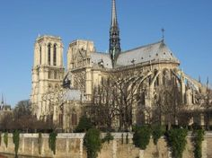 Paris - Notre Dame - touring is free but optional fee to go to the top staircases; worth it (possibly included in Museum Pass)