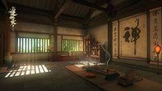 Animation Background, Art Background, China Art, Environment Concept Art, Anime Scenery, Fantasy Landscape, Medieval Fantasy, Japanese Art, Architecture Design