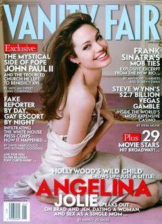 Angelina Jolie - Vanity Fair Magazine [United States] (June 2005)