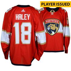 ... Florida Panthers Fanatics Authentic Player-Issued  18 Red Set 1 Backup  Jersey with Marjory Stoneman Douglas Patch from the 2017-18 NHL Season - Size  56 c849db3c5