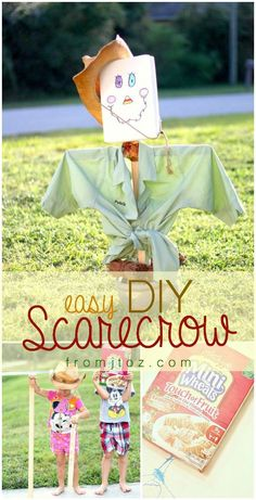 Easy DIY Scarecrow - From J to Z