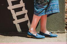 Купить Лоферы  9-330 (ВК) - сапожки ручной работы, мода, стиль, сапоги женские