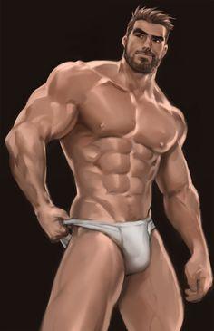 Interracial Gay Male Art Works