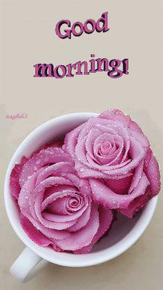 good morning - animated image