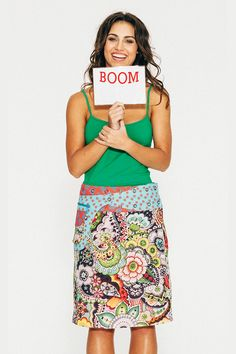 BOOM SHANKAR - Rosanna Reversible Long Skirt