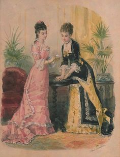 Fashion plate, 1877.