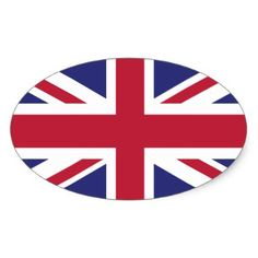 Britain UK Flag Brexit oval shaped x20 stickers  $5.75  by Kekistan  - custom gift idea