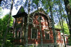 terijoki Beach House, Cabin, House Styles, Villas, Houses, Image, Google, Home Decor, Beach Homes