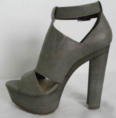 JESSICA SIMPSON Gray Platforms Pumps Heels Size 8 #JessicaSimpson #FashionAnkle