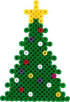 Christmas tree Hama beads - Christmas Time 3034