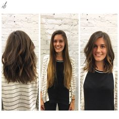 long hair transformation by #lexibdc