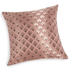 Sequin pillow cushion cover silver rose gold chevron cushion covers gold chevron and sequins - Coussin rose gold ...