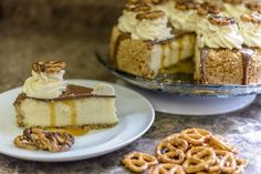 Caramel Pretzel Cheesecake | Real Women of Philadelphia