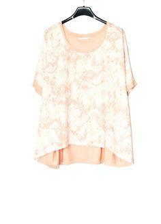 Kup mój przedmiot na #vintedpl http://www.vinted.pl/damska-odziez/bluzki-z-krotkimi-rekawami/13722293-pudrowa-luzna-bluzka-only-m-nowe