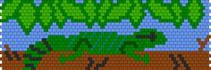 Basking Water Dragon Bead Pattern