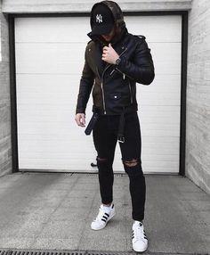 Classy Black NY Cap For Men