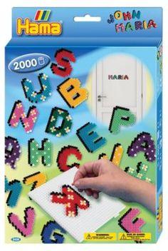 HAMA 3424 midi-Geschenkset Buchstaben, Hama Perlen | myToys