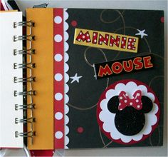 """cute page idea - i like the idea of having a """"cover"""" before a plain page for the autograph"""