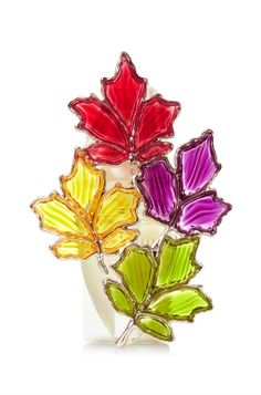 Stained Glass Leaves Wallflowers Fragrance Plug   - Home Fragrance 1037181 - Bath & Body Works