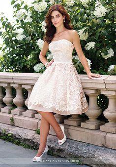 Enchanting by Mon Cheri 117172 A-Line Wedding Dress