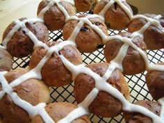 Hot Cross Buns are a favorite at Easter time!  #glutenfree #dairyfree #gfcf