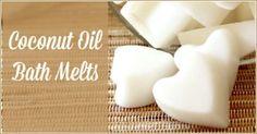 Coconut Oil Bath Melts - The Coconut Mama