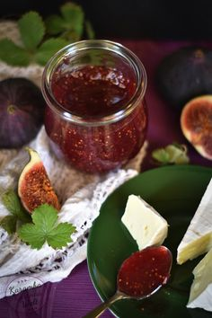 Feigen-Rotwein-Marmelade