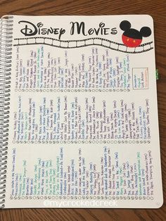 A Look Through My Bullet Journal (so far)You can find List of disney movies and more on our website.A Look Through My Bullet Journal (so far) Bullet Journal Netflix, Bullet Journal Aesthetic, Bullet Journal Notebook, Bullet Journal Spread, Bullet Journal Layout, Bullet Journal Inspiration, Bullet Journals, Life Journal, Nature Journal