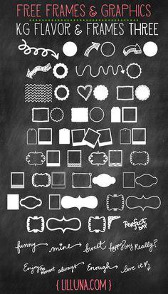 Free Frames and Graphic Web Design, Tool Design, Modern Design, Typography Fonts, Typography Design, Creative Typography, Gratis Fonts, Vector Amor, Design Blogs