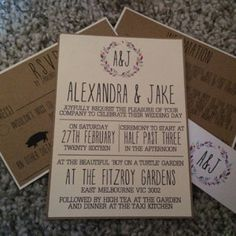 Hey I Found This Really Awesome Etsy Listing At 99557609 Shakespeare Wedding Ticket Save The Date