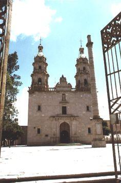 Church in San Miguel El Alto, Jalisco Mexico