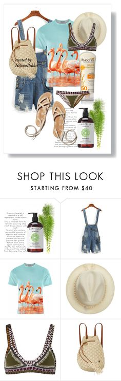 """""""#43SummerTime"""" by helena-bekker ❤ liked on Polyvore featuring Aloha From Deer, kiini, Billabong, Aveeno and 43"""