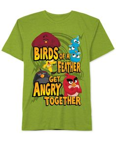 Angry Birds Boys' Angry Together T-Shirt