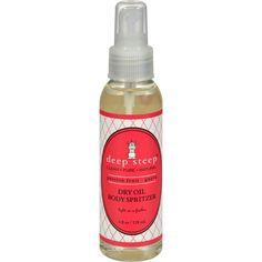 Deep Steep Dry Oil Body Spritzer - Passion Fruit Guava - 4 Fl Oz