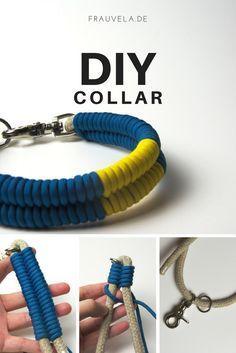 DIY Halsband – Hanftau meets Paracord |