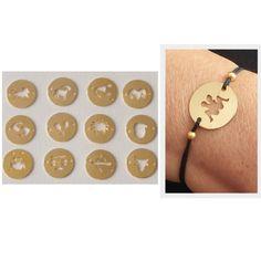 Zodiac Bracelet, Zodiac Charm Bracelet, Astrology Bracelet, Personalized Gift, Horoscope bracelet