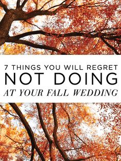 A must-read for fall brides!