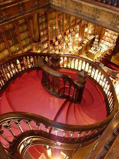» Entre las librerías más bonitas del mundo, Lello e Irmão (en Oporto, Portugal) Viajes – 101lugaresincreibles -