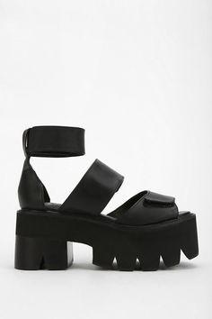Jeffrey Campbell Warlock Treaded Platform Sandal #urbanoutfitters