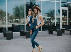 How to Style Overalls + Link-Up - Living in Color