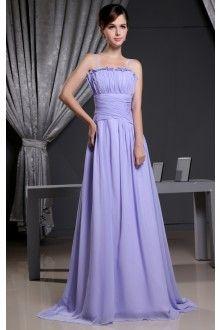 Kleid lang lavendel