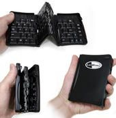 When your laptop isn't available, how do you get any real work done? These nearly full-sized but very transportable keyboards can turn your mobile device into a productivity tool.