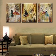 Abstract Artwork, Ballet Dancers Painting, Canvas Art Painting Sets, Abstract Art for Sale - HomePaintingDecor Hand Painting Art, Acrylic Painting Canvas, Abstract Canvas, Painted Canvas, Hand Painted, Abstract Paintings, Modern Paintings, Large Painting, Knife Painting
