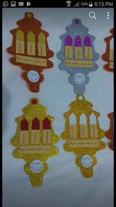 Ramadan Crafts, Ramadan Decorations, Infant Activities, Islam, Crafts For Kids, Paper Crafts, Education, Christmas Ornaments, Creative