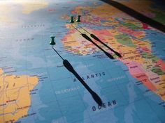 Tripping in Trips: DIY - O Meu Mapa de Viagens