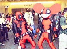 Deadpool and deadmau5 / iFunny :)