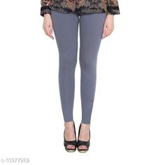 Checkout this latest Leggings Product Name: *Sakhi Shine Ankle Length Cotton Legging* Fabric: Cotton Lycra Pattern: Solid Multipack: 1 Sizes:  28, 30, 32, 34, 36, 38, 40 (Waist Size: 40 in, Length Size: 38 in)  42, 44 Country of Origin: India Easy Returns Available In Case Of Any Issue   Catalog Rating: ★3.9 (298)  Catalog Name: Fashionable Feminine Women Leggings CatalogID_2033476 C79-SC1035 Code: 382-10977262-936